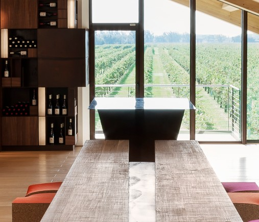 Le Monde 와인 시음 룸 구조 Alessandro Isola