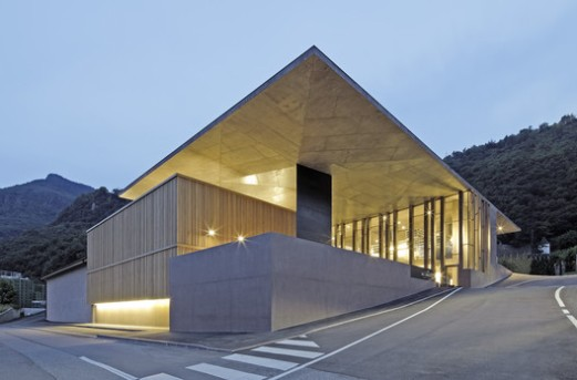 The Winery Nals-Margreid architects Markus Scherer