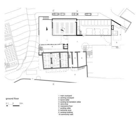 The Winery Nals-Margreid ground floor