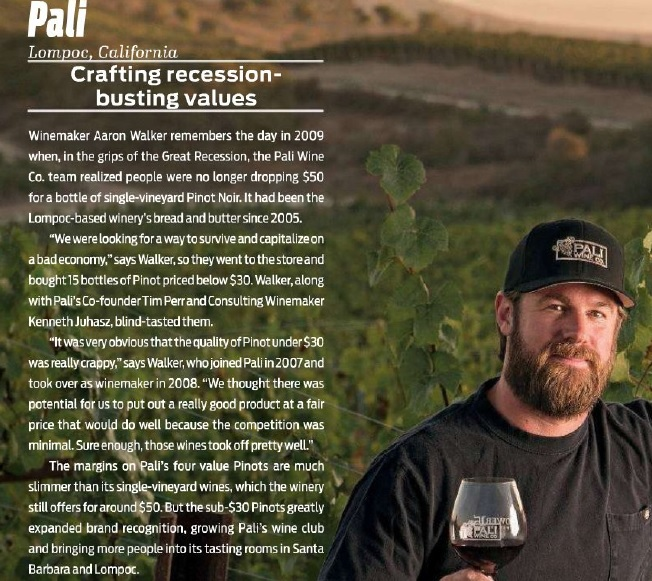 Pali Suriving wine recession California