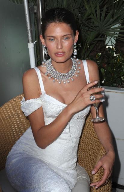 Bianca Balti De Grisogno Jewellery Party at Martinez Hotel 64th Cannes Filmfest M