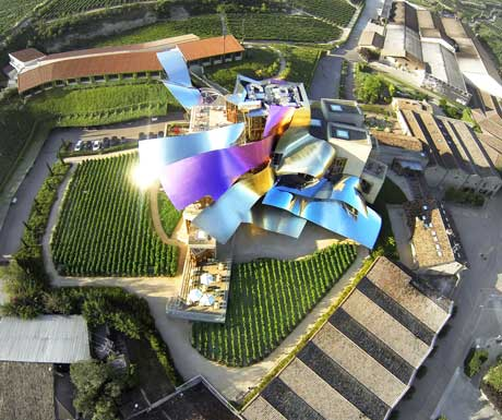 Marqués de Riscal new era of Rioja wines in Spain by Frank O. Gehry.jpg