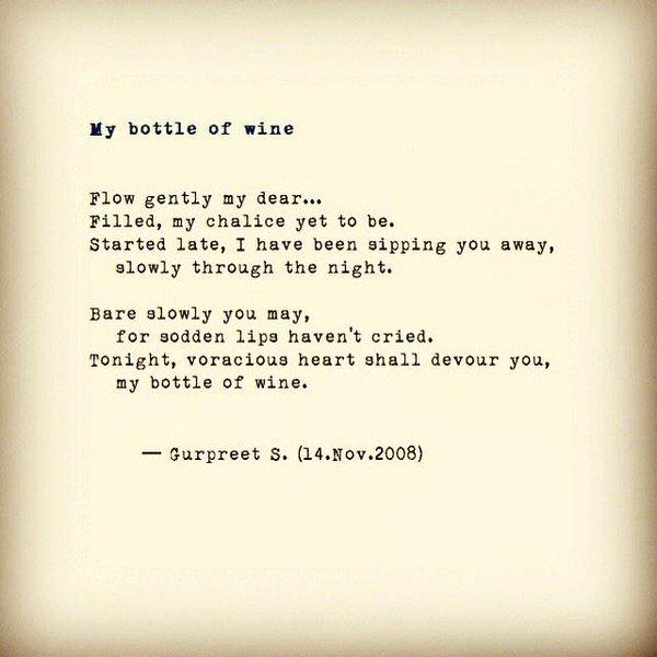 My bottle of wine Gurpreet S.jpg