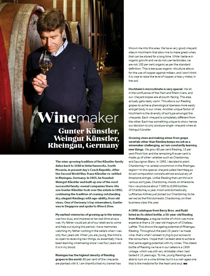 Wine and Dine Kunstler Family Winemaker April 2017 issue.jpg