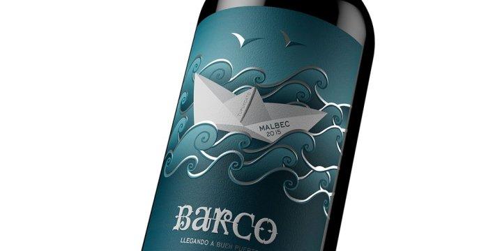 Barco Malbec wine design 2015