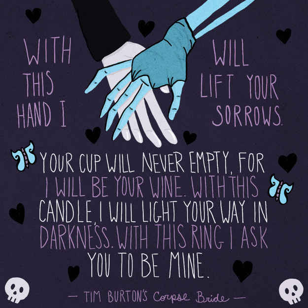 Corpse Bride Wedding Vows Wine