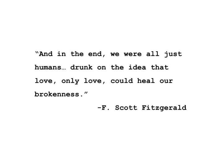 Drunk F Scot Fitzgerald