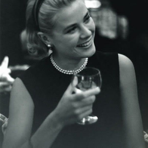 Grace Kelly wine glass