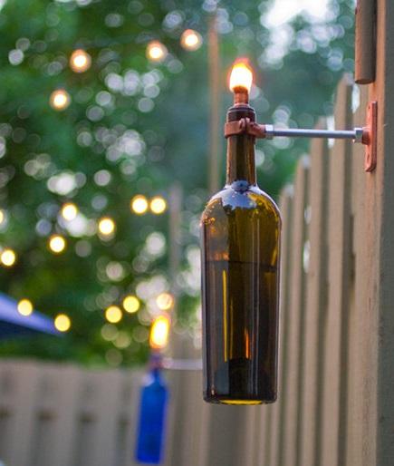 žarulja ulja za boce vina