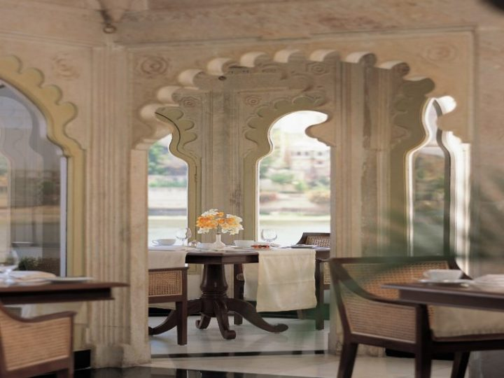 Jharokha, Taj Lake Palace, Udaipur, India